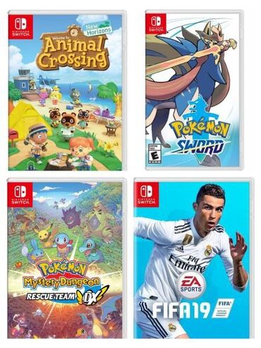 Nintendo Switch - Azərbaycan: Nintendo Switch üçün OyunlarHamısı birlikdə satılır Animal Crossing