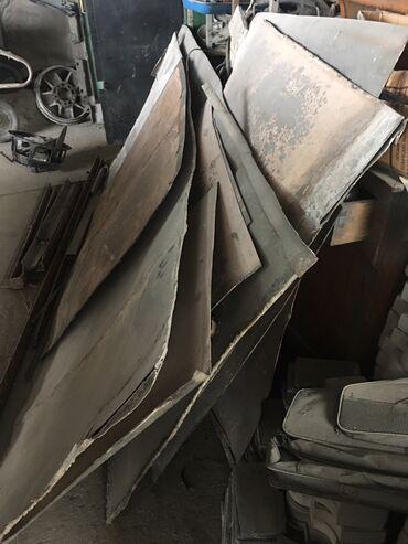 Металлопрокат, швеллеры - Бишкек: Листы нержавейка размеры 1-2м. 1-1м 14м2
