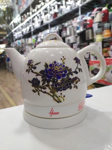 """Bakı şəhərində """"Haeger"""" keramika elektrikli çaynik. tutum 1l  *çatdırılma var!"""