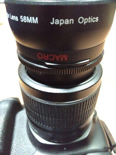 фотоаппарат canon eos 1100 d в Кыргызстан: Зеркальный фотоаппарат Canon 1200D Батарейный блок двумя батарейками Ф