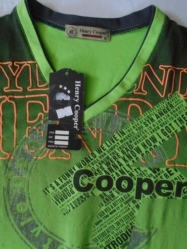 Nova, sa etiketom kvalitetna (od 100% pamuka), muška majica Henry