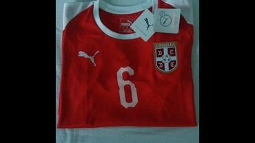 Original dres fudbalske reprezentacije Srbije 6-Ivanović Veličina-S - Belgrade