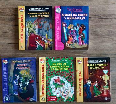 Za decu | Beograd: DZERONIMO STILTON I TEA STILTON KNJIGE. Nisu oštećene.6 knjiga +