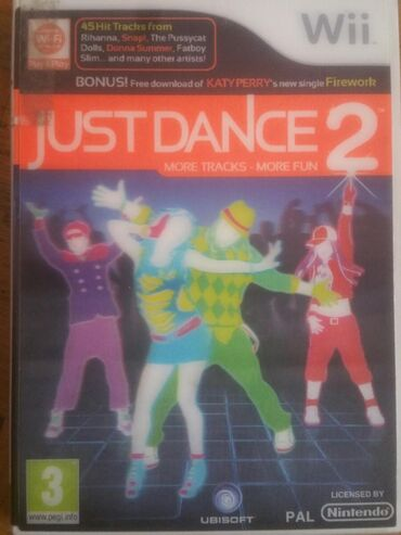 Knjige, časopisi, CD i DVD | Novi Sad: Igrica za Wii Just Dance