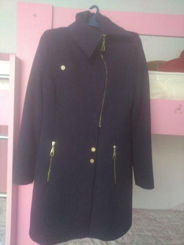 трикотажное платье футляр в Кыргызстан: Продаю турецкое кашемировое пальто 46-48р,состояние хорошее.Турецское