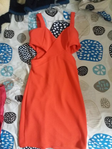 Haljina-crvena-ic - Srbija: Nova crvena haljina M velicina