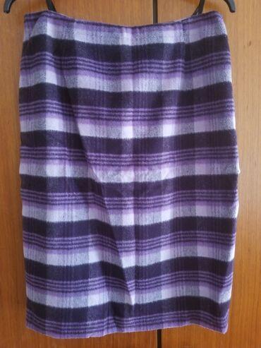 Suknja karirana, Mara Manzona, veličina 42