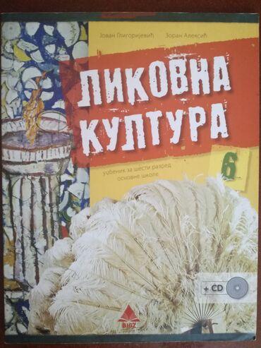 Bez - Srbija: Likovna kultura za 6. razred, BigzKnjiga je oćuvana, kao nova. Bez