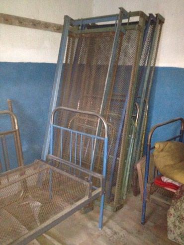 Продается железная кровать 1 шт, в Бишкек