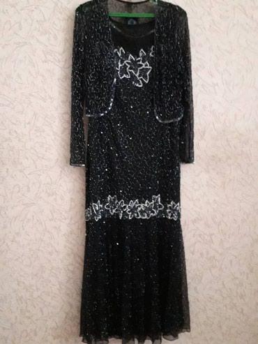 Шикарное платье плюс накидка-болеро в в Бишкек