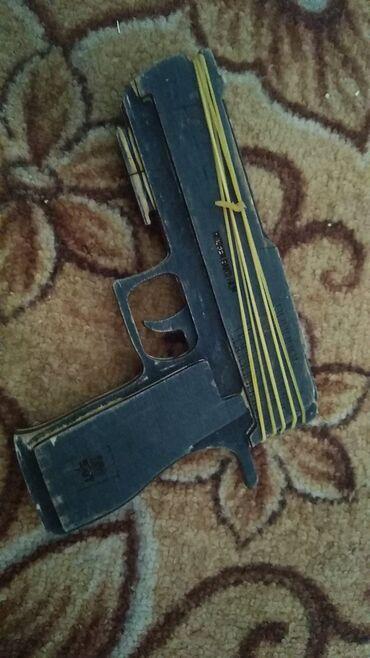 массажный пистолет в Кыргызстан: Пистолет стриляет ризинками