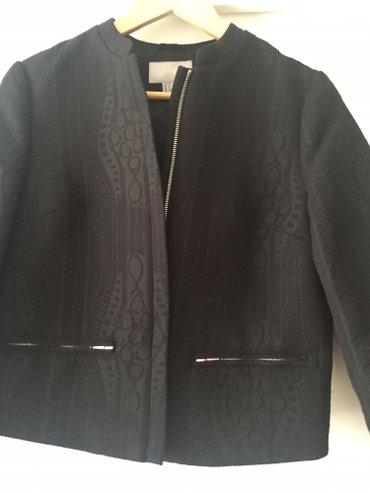 Sako-crne-boje - Srbija: Sako marke h&m vel m prelep kao jaknica nov bukvalno zift crne