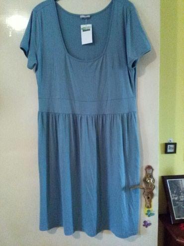 Haljina za krupnije dame,nova novcata,materijal peri deri mekan,vidi - Sombor