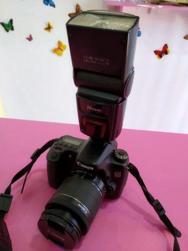 Продаю фотоаппарат 70d 18-55mm Весь Комплект Цена 49000сом в Бишкек