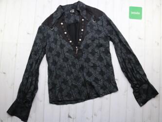 Готическая блуза женская Punk Rave Длина: 64 см Рукава: 72 см Пог: 47