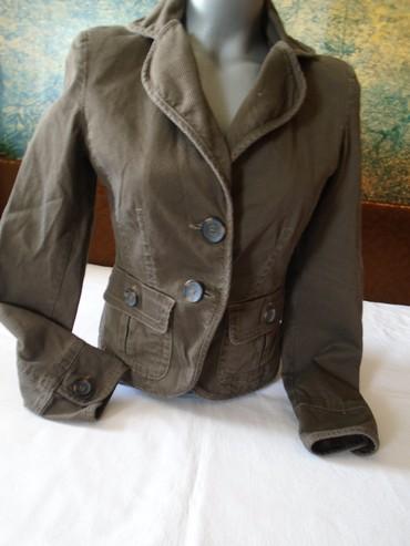 Strukirani sako/blejzer/jaknica,  veličina 34 a mere su: ramena 38 - Belgrade