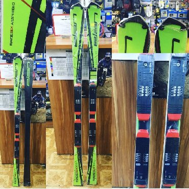 Elan race slx amphibio Великолепная цепкая лыжа. Очень любит скорость