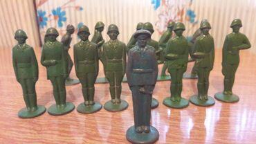 Солдатики оловянные. Советские. 60-х годов