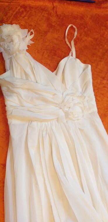 вечернее платье на прокат в Кыргызстан: Белое платье вечернее одевала один раз продаю за 2500 покупала намного