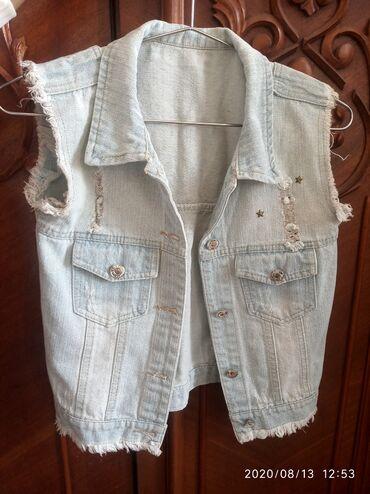 Женская одежда - Кашка-Суу: Джинсовки!!! В отличном состоянии! 1джинсвока-250с 2джинсовка-200с