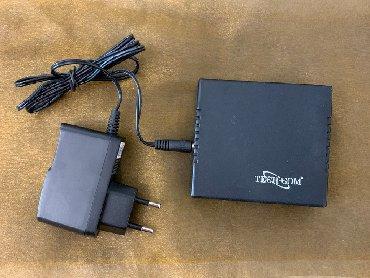 poe switch в Кыргызстан: HUB Switch TECH-COM 5 портов,б\у Требуется замена блока питания