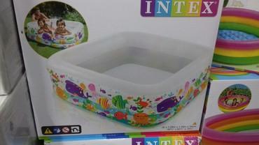 Надувной бассейн для дачи и для дома . Такие бассейны практичны, удобн