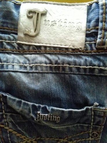 Muske texsas pantalone kupljene u italiji,32 broj. Za vise komada - Sombor
