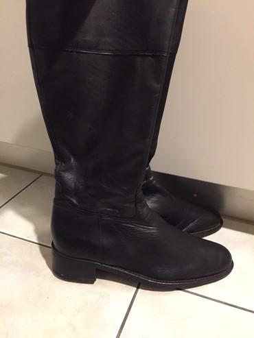 ΜαύρεςΔερματινες μπότες μέχρι το σε Rest of Attica