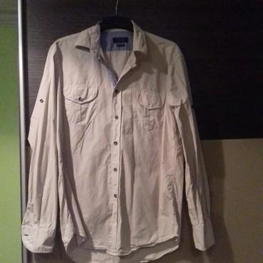 Muška odeća | Cuprija: Zara Man, Classic Sport, muška bež košulja, kupljena u Austriji