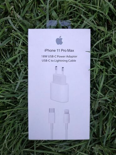 Вновь в наличии! Оригинал зарядка для Айфон iPhone  18W USB-C Power Ad