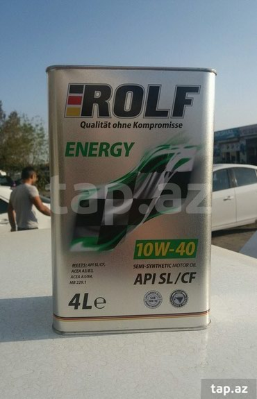 Sumqayıt şəhərində ROLF Alman istehsali olan muherrik yagi.Keyfiyyetli ve
