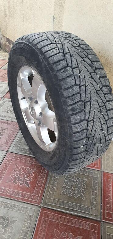 Прокатка дисков бишкек - Кыргызстан: Продаю диски на Toyota LC R18 с зимней резиной