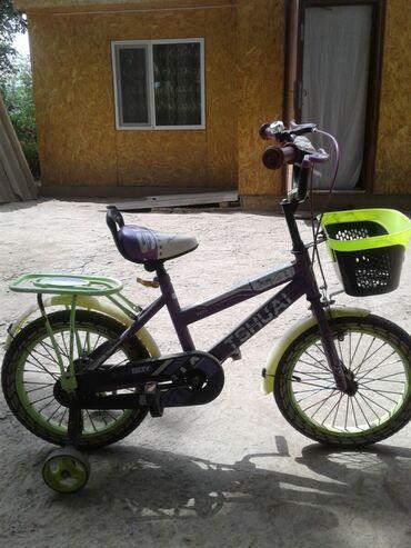 Спорт и хобби - Каинды: Продаю велосипед детский на 3 - 5 лет в отличном состоянии,ездила на