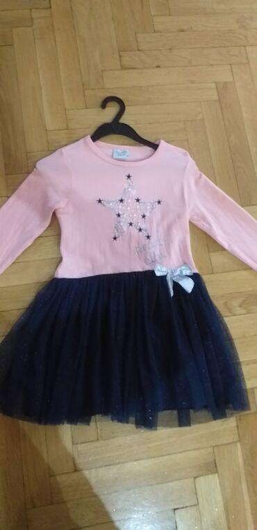 Dečija odeća i obuća - Nis: Haljina 4-5 god ( kao nova)