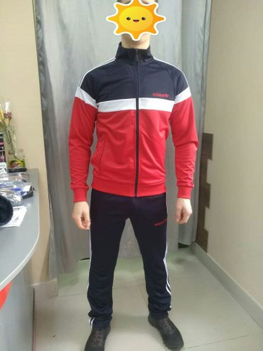 Спортивный костюм ADIDAS выполнен из в Бишкек