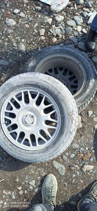 шины 195 65 r15 лето купить в Кыргызстан: 4*100 диски R15 срочно продаю