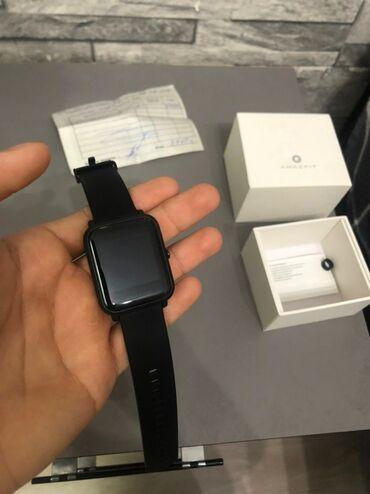 чек в Кыргызстан: Amazfit Bip новые часы, совсем неиспользованные, продаю из-за ненадобн
