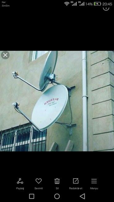 Bakı şəhərində Krosna antenalar ucuz qiymətə,HD