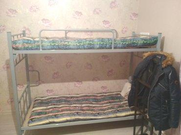 двухъярусная кровать продаю срочно в Бишкек