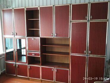 Продаю стенку размер ширина 3,10 высота 2,25 цена 11000 сом торг