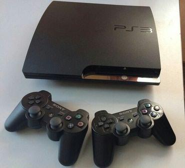 Sony PS3 PlayStation3 Slim. Память 500 Гб. Прошитая. в Бишкек