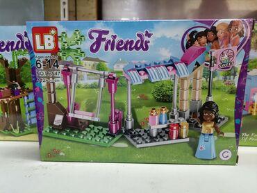 "Lego kocke - Srbija: Lego kockice ""frienda"" Lego kocke najboljih drugarica sa vise od 113de"