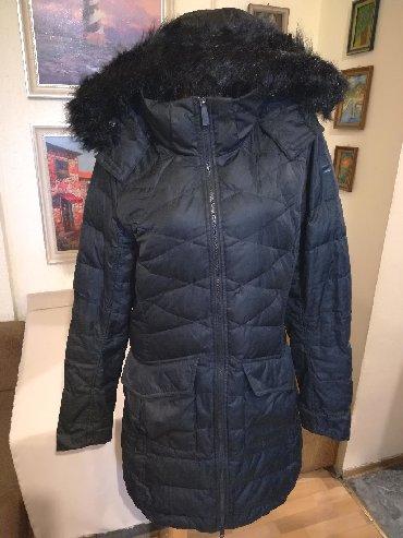Zimske-jakne - Srbija: Odlicna ocuvana zenska zimska jakna sa kapuljacom Nike. Odlicna zenska