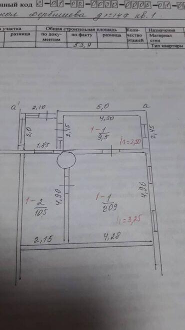 alfa romeo spider 2 mt в Кыргызстан: Продам Дом 53 кв. м, 2 комнаты
