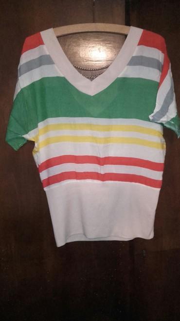 Sarena majica sa lancima na ledjima vel S/M - Kovacica