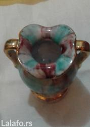Ostali kućni dekor - Srbija: Razne porcelanske figure, porcelanska kuca vazica sa