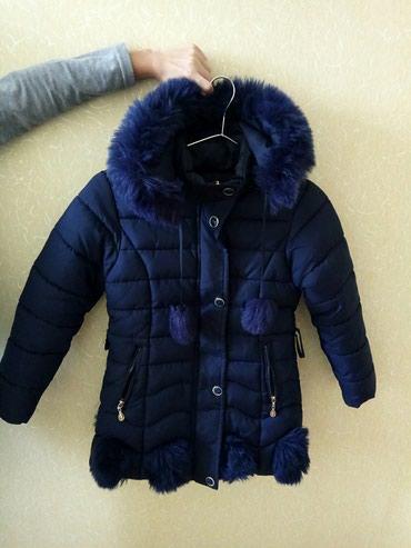 Bakı şəhərində Куртка тёплая, зимняя, на 9-10лет, носила 1сезон