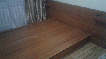 Срочно продам Кровать в отличном состоянии. с подсветками есть тумбочк в Лебединовка