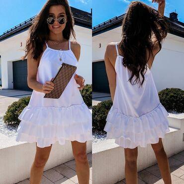Haljina NOVO!*Nova Kolekcija *Dostupne boje : crna, bela, krem