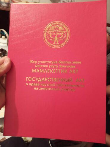 Недвижимость - Тамчы: 100 соток, Для бизнеса, Собственник, Красная книга